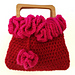 Pretty Valentine Crochet Purse pattern