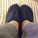 Double-Knit Slippers pattern