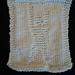 Humanist Dishcloth pattern