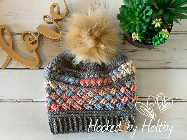 Ravelry My Michelle Beanie Pattern By Hooked By Holtby