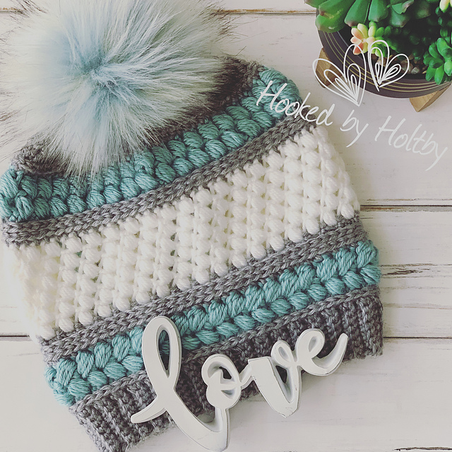 Ravelry The Courtney Beanie Pattern By Hooked By Holtby