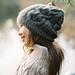 Snowy Flower Hat pattern