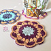 Petal Coasters pattern