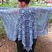 Azurite Shawl pattern