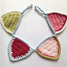 Mini crochet bunting pattern