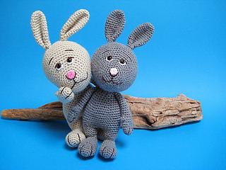 Bunny Amigurumi Crochet Pattern - Rabbit Crochet Pattern - Easter - | 240x320