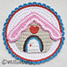 Gingerbread House Applique Christmas pattern
