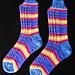 Union Square Socks pattern