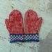 Striped Mittens pattern