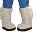 "Mini Sweater Boots - 18"" American Girl Doll Shoes pattern"