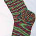 Basic Socks on Two Circs pattern