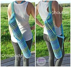 Ravelry: Behold the Spirit Yoga Mat Bag pattern by Miriam ...