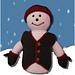 Snowman Crochet Doll pattern