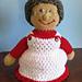Mrs Santa Claus Crochet Doll pattern
