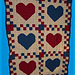 Country Hearts Quilt pattern