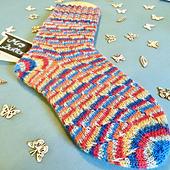 Candy Swirl Socks