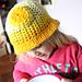 Bucketful of Sunshine hat pattern