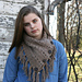 The Mountain Triangle Scarf pattern