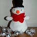Treat Filled Amigurumi Snowman  pattern