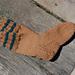 Homespun Socks in 3 sizes pattern