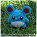 Chibi Marill (pokemon) pattern