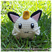 Chibi Meowth (pokemon) pattern