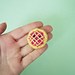 Tiny Cherry Pie pattern