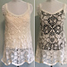 Floral Lace Tunic Tank Top pattern