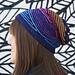 Dazzle Hat pattern