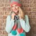 Pom pom hat and scarf pattern