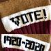 Vote! Hat pattern