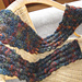 Shifting Rib Scarf pattern
