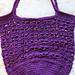 Calla Lily Market Bag pattern