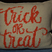 Trick or Treat Pillow pattern