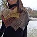 Dragon´s tail shawl Karina pattern