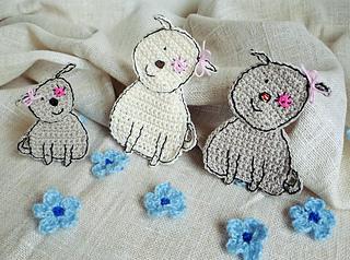 Crochet Cat Head Applique Patterns - Buy Crochet Applique Patterns ... | 238x320