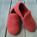 Women's Loafer Slippers Felted pattern