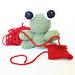 Amigurumi Gary the Tiny Frog pattern