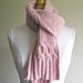 Breast Cancer Ribbin' Scarf pattern