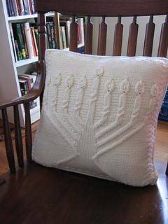 Menorah Pillow