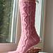 Blushing Ivy Socks pattern