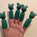 Frog Finger Puppet pattern