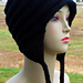 Earflap Cap with I-Cord pattern