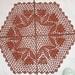 Insertion foundation doily pattern