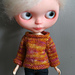 Long Sleeved Sweater for Blythe pattern