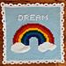 Rainbow Puff Blanket pattern