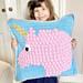Unicorn Bobble Pillow pattern