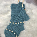 Boho Beaded Stocking pattern