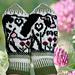 Cow Mittens | Veslekua pattern