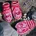 """""""Liten fuggel"""" baby mittens and socks pattern"""